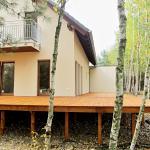 Modrzew Syberyjski taras drewniany Pszczew