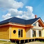 Modrzew Syberyjski drewniany taras Leszno