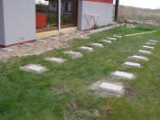 Bloczki betonowe- poziomowanie