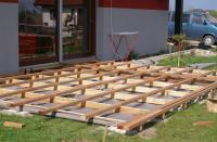 Gotowa konstrukcja tarasu